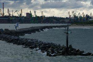 Klimato kaita daro įtaką uostui