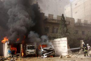 Pasibaigus paliauboms Alepe vėl kilo susirėmimų