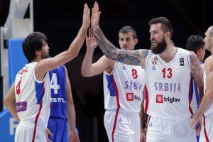 Serbijos krepšinio rinktinės kandidatų sąraše – pajėgiausi krepšininkai