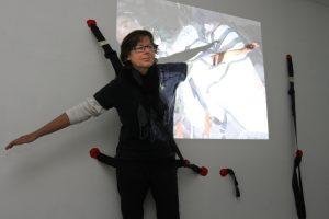 Meno rezidentūros projektą papildė videoinstaliacija