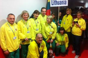 Europos veteranų lengvosios atletikos čempionate lietuviai iškovojo šešis medalius