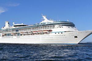 Į uostamiestį kruiziniu laivu atplaukia virš 2 tūkst. turistų