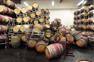 Kalifornijos vyndarystės regioną sukrėtė 6 balų žemės drebėjimas