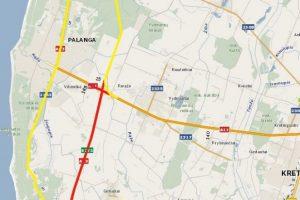 Dėl lenktynių keičiasi eismo tvarka į Palangą