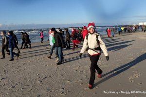 Klaipėdiečiai žygiavo iš Kalėdų į Naujuosius metus