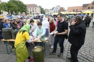 Žvejai miestiečiams dovanojo šventę