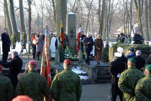 Iškilmingoje ceremonijoje pagerbti žuvusieji už Klaipėdos kraštą
