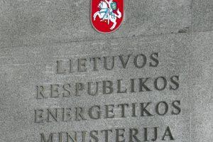 Energetikos viceministrą S. Šatūną keičia L. Sabaitienė