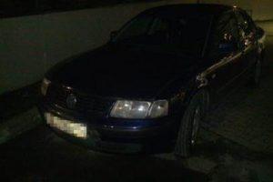 Rusas vairavo įtartiną automobilį