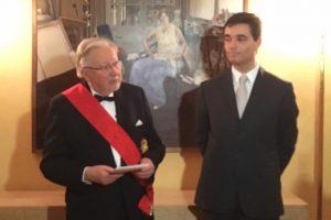 V. Landsbergiui įteiktas aukščiausias Prancūzijos valstybinis apdovanojimas