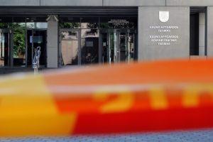 Sulaikytas vyras, pranešęs apie sprogmenį Kauno apygardos teisme