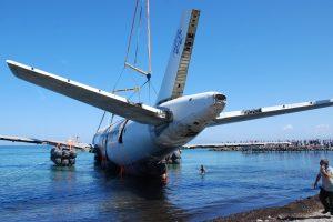 Turkija nuskandino jūroje lėktuvą, kad priviliotų daugiau nardytojų turistų