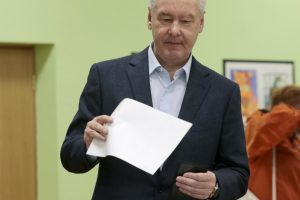 V.Putino sąjungininkas laimėjo Maskvos mero rinkimus, A.Navalnas abejoja skaidrumu