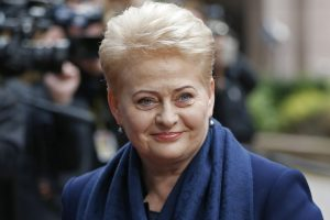 D. Grybauskaitė: sveikinu visus su Europos diena!