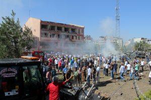 Turkijoje vėl aidi mirtini sprogimai