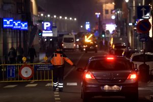 Dalyje Briuselio buvo dingusi elektra
