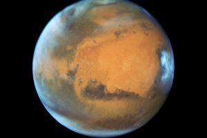Marse siaučiančios pūgos gali pražudyti pirmuosius astronautus