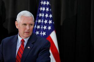Kantrybė išseko: JAV viceprezidentas perspėjo Šiaurės Korėją