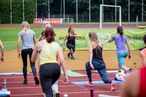 Sporto iššūkį priėmė šimtai kauniečių