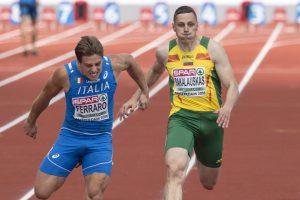 R. Sakalauskas pateko tarp pajėgiausių sprinterių