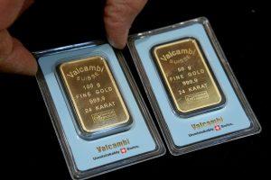 Aukso kainos kilo sparčiausiai per 30 metų