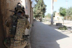 Afganistane sprogus bombai žuvo patruliavęs JAV karys
