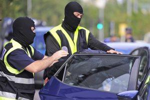 Ispanijoje suimti 45 asmenys, siejami su gruzinų nusikaltėlių gauja