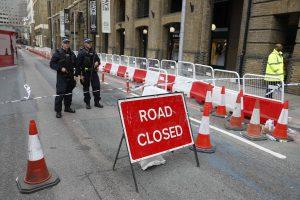 Drąsūs londoniečiai nepabūgo stoti į kovą su teroristais