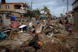 """Nuo uragano """"Irma"""" nukentėjusiuose Karibuose yra septyni Lietuvos piliečiai"""