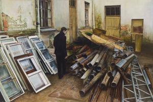 Parodoje – jauno tapytojo žvilgsnis į miestą