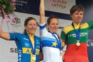 K. Sosnai – Europos kalnų dviračių maratono čempionato bronza