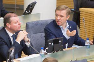 R. Karbauskis prašo S. Skvernelio tramdyti emocijas
