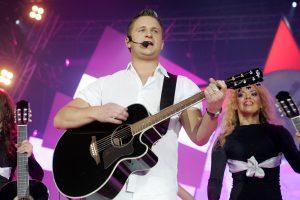 Dainininkas A. Rimiškis su žmona susilaukė antros dukters