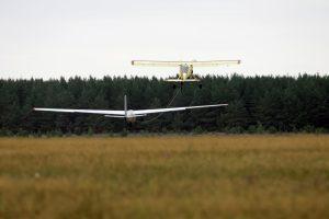 Nelaimė Pociūnų aerodrome: sunkiai sužalotas vaikas