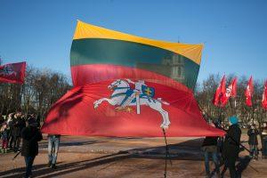 Kaip paminėta Vasario 16-oji 1989 metais, merdėjant sovietų režimui?