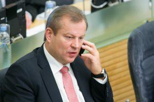 Seimo komiteto išvada: M. Bastys veikė prieš Lietuvos interesus