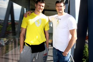 K. Lavrinovičius pakeis savo brolį Emilijos Redžo klube Italijoje