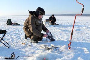 Sausio 15-ąją jau galima žvejoti vėgėles