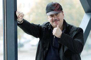 S. Donskovas mėgsta būti sporto komentatoriumi savo žmonai