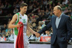 Europos čempionas krepšinio kamuolį paima retai ir nesigaili