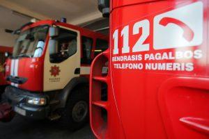 Panevėžyje per gaisrą žuvo moteris