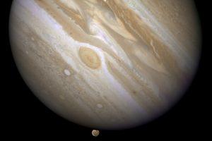 Tyrinės Saulės sistemos milžiną