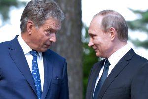 Suomių diplomatas: nejaučiame Rusijos grėsmės