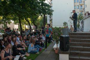 Slemo poezijos debiutas Kaune – su ovacijomis