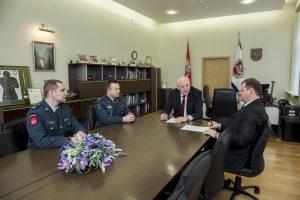 Paskirti nauji Utenos ir Tauragės apskričių policijos vadovai