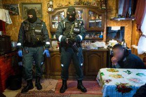 Policija: taboro gyventojai narkotikus ėmė platina ne tik prie savo namų