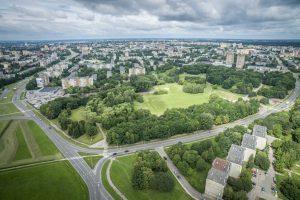 Rekonstruotas Draugystės parkas bus skirtas sportui