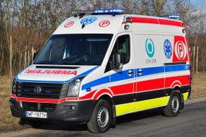 Per rusų autobuso ir automobilio avariją Lenkijoje nukentėjo 11 žmonių