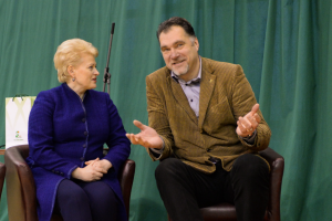 Įtakingiausi Lietuvoje – D. Grybauskaitė ir A. Sabonis