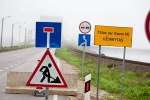 Eismą Kauno hidroelektrinės tiltu atgaivins nuo gegužės